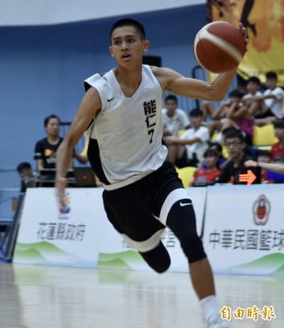 菁英盃籃球》能仁家商新隊長游艾喆 要憑自己實力再拿冠軍