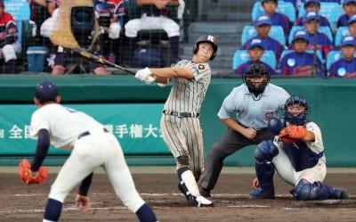 甲子園》史上第6人! 杉田翔太郎9上開轟 締造完全打擊 (影音)