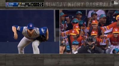 MLB》照鏡子? 少棒小球員模仿金布瑞笑瘋網友(影音)