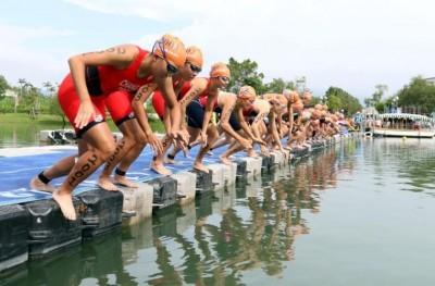 全國最大梅花湖鐵人賽9月登場 台將潛力新秀力拚佳績