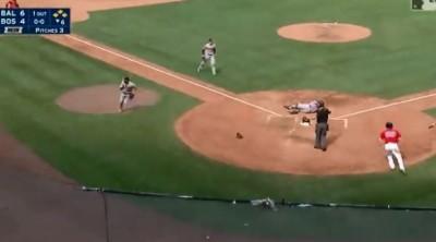 MLB》金鶯「系隊守備」再現 領先6分慘遭大逆轉輸球(影音)