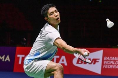 羽球世錦賽》台灣一哥周天成苦戰74分鐘 驚險晉級男單32強