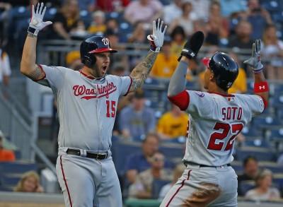 MLB》恐怖! 國民近3戰16轟、5戰爆打62分破紀錄(影音)