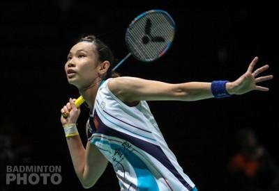 戴資穎直落2打敗印尼20歲小將 羽球世錦賽晉級女單16強