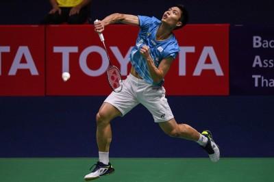 羽球世錦賽》台灣一哥周天成又過一關 連3屆晉級男單16強