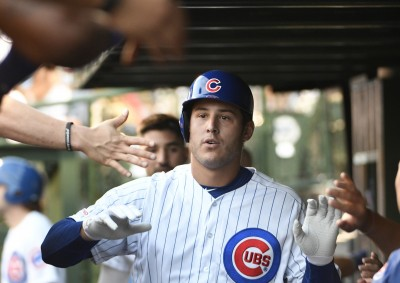 MLB》瑞佐雙響助拳 小熊扳倒巨人戰績緊咬紅雀(影音)