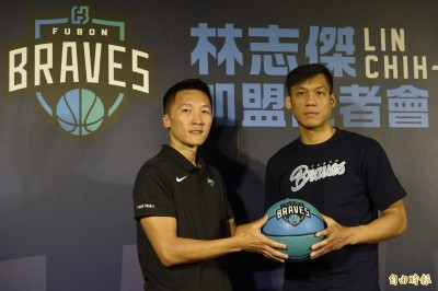 籃球》林志傑加盟富邦勇士 許晉哲:盼他成為「隊神」