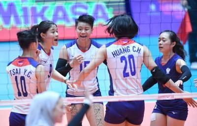 女排亞錦賽》台灣隊擊敗伊朗 將爭取最佳第5名