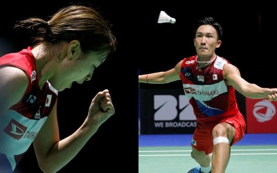 羽球世錦賽》日本男女單皆告捷! 桃田、奧原輕取對手晉4強