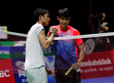 羽球世錦賽》新加坡小將不敵周天成 大讚小天有這項優勢