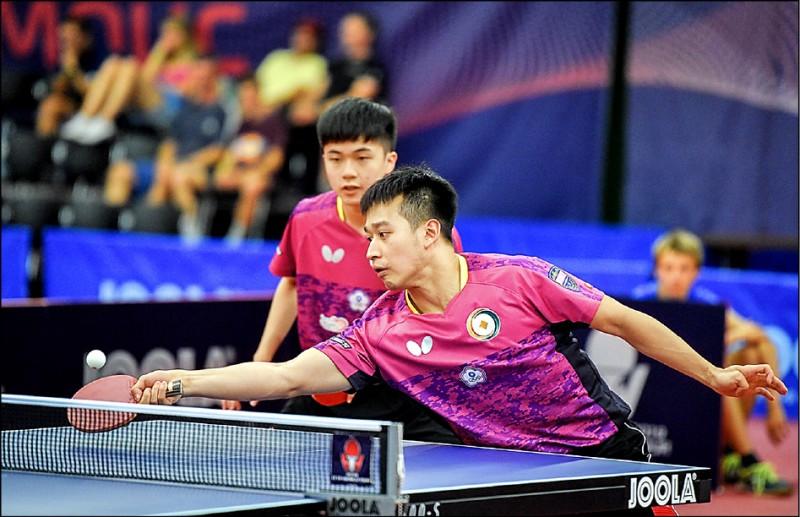 捷克桌球公開賽》林昀儒單打闖8強 對決日本黑馬