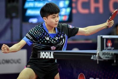 捷克桌球公開賽》直落四碾壓日本黑馬 林昀儒率先晉級四強