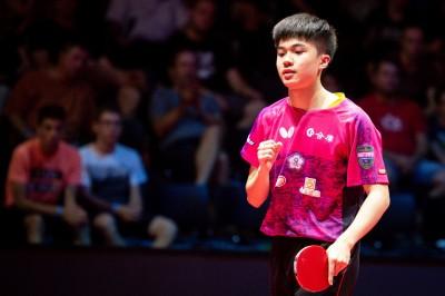 捷克桌球公開賽》3連勝倫敦奧運銅牌  林昀儒暢快封王