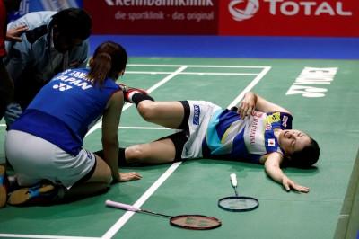 羽球世錦賽》腿斷了仍拚戰 日本米元小春恐無緣東奧