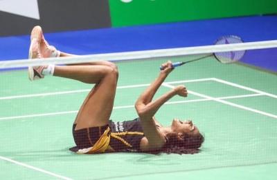 羽球世錦賽》自豪成印度第一人 辛度奪冠是為了獻給「她」
