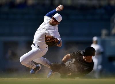 MLB》洋基追平分竟不算? 道奇馬恩西「裝痛」騙到裁判