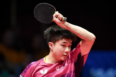 桌球》捷克公開賽冠軍加持  林昀儒世界排名可望躋身前十