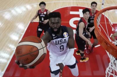 籃球世界盃》美國夢幻隊甦醒 痛宰八村壘領軍的日隊53分