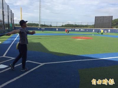 U18直擊》只有羨慕的份  夢想園區少棒、壘球場超舒適