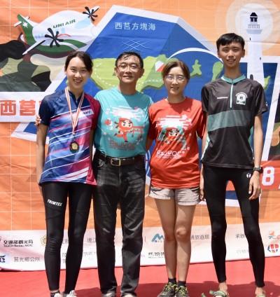 會跑、會讀書!北醫醫科生黃敏惠奪馬祖定向越野錦標賽冠軍