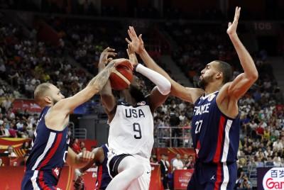 籃球世界盃》3連霸夢碎! 美國爆冷輸法國止步八強