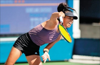 廣島女網賽》苦戰三盤逆轉澳洲好手 謝淑薇生涯單打500勝入袋!