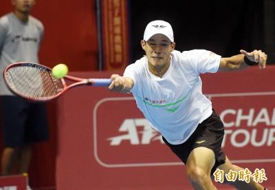 網球》台維斯盃力壓香港 台灣隊率先聽牌