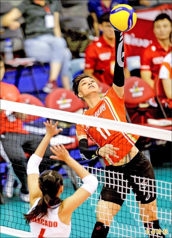 女排邀請賽》極速超跑擊敗菲律賓 今迎戰泰國