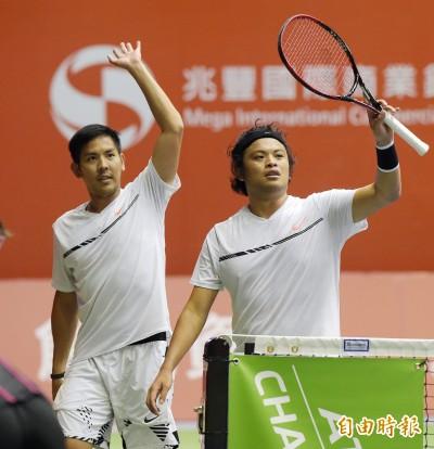 網球》台維斯盃胖鵬配強壓香港 台灣晉世界組一級升降賽