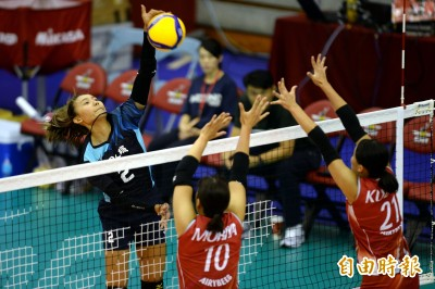 女排邀請賽》台灣二隊未能延續氣勢 日本「一波流」帶走勝利