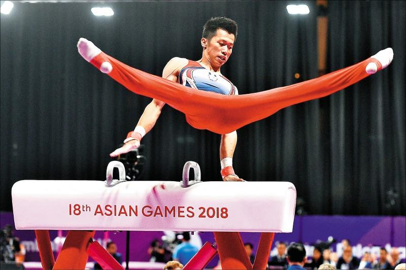 法國體操挑戰賽》測試新動作 李智凱兩度落馬