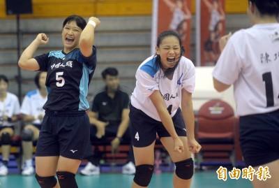 女排邀請賽》壽星「妞妞」羅儀璟拿17分 台灣二隊激戰5局收首勝