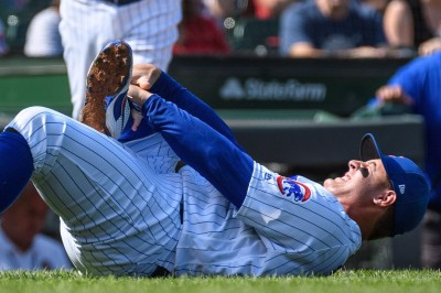 MLB》小熊三戰狂轟47分破紀錄 明星砲手卻受傷了(影音)
