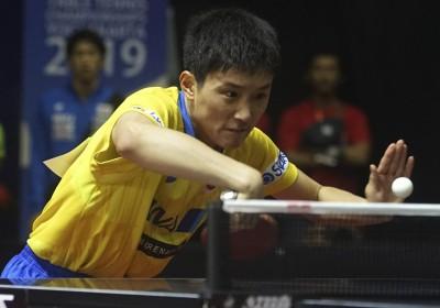 桌球亞錦賽》「怪物少年」竟爆冷慘輸!印度老將傷退日本驚險晉級