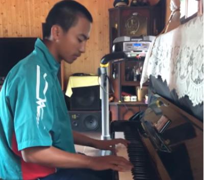 U18世界盃》文武雙全!抗美英雄余謙彈琴影片被翻出網友熱議