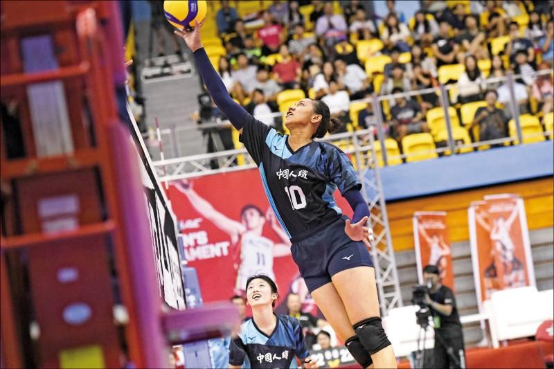 亞洲女排邀請賽》台灣二隊逆天 中纖擊潰超跑