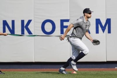 MLB》洋基「怪力男」回來了! 隨隊記者:最快明天能出賽