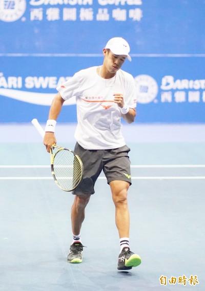 高雄海碩男網賽》莊吉生晉16強   單打最後台將希望