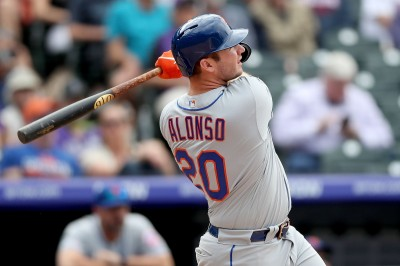 MLB》阿隆索刷新大都會隊史紀錄 「法官障礙」剩3轟!(影音)