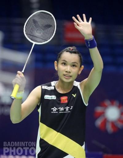 中國賽》台灣一姊戴資穎拍落日本大堀彩 晉級女單8強