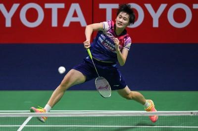 中國賽》中國一姊陳雨菲直落2擊退泰國黑馬 晉級女單4強
