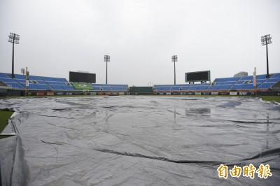 中職》北部陰雨綿綿 今晚桃園、新莊球場雙雙延賽