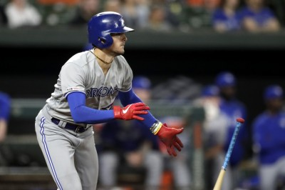 MLB》藍鳥名將之子同場發揮 小畢歇特卻意外遭頭部觸身