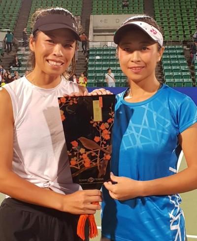 網球》最後半小時才決定要合拍   謝淑薇大讚妹妹好表現
