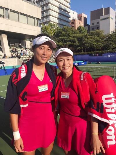 泛太平洋網賽台灣內戰 詹、謝姊妹檔晚上爭冠