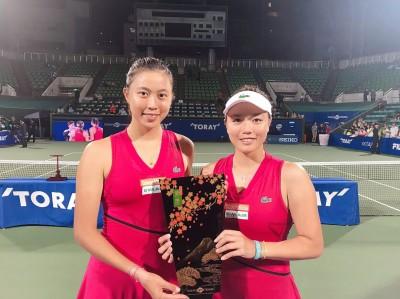 網球》詹詠然姊妹強壓謝淑薇姊妹 泛太平洋雙打首度封后