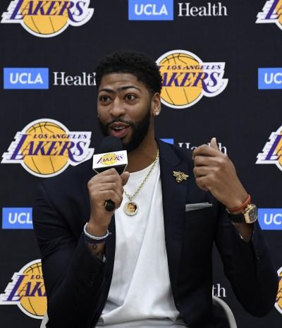 NBA》不想缺席任何比賽! 湖人一眉哥自稱強化了身體所有部位