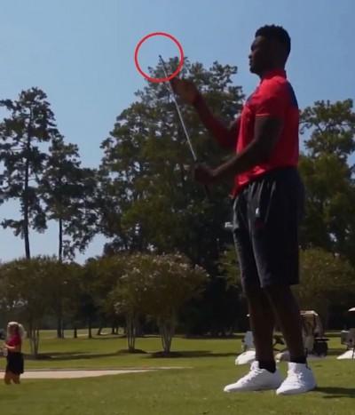 NBA》超驚人怪力! 鵜鶘狀元打高爾夫球...桿頭竟被轟飛(影音)