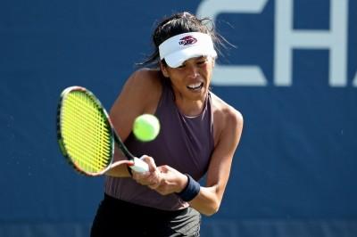 網球》台灣一姊謝淑薇再當「球后殺手」 大逆轉沃茲妮雅琪晉級32強