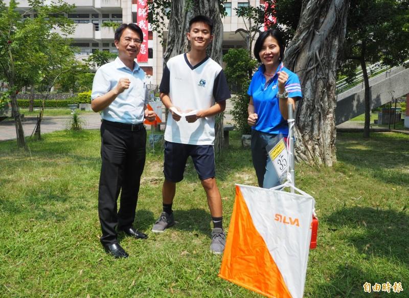 亞洲青少年定向越野賽接力  中興高中高一生李東陽獲銀牌